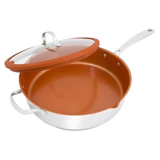 NuWave 31188 12-Inch Stainless Steel Everyday Pan with Lid