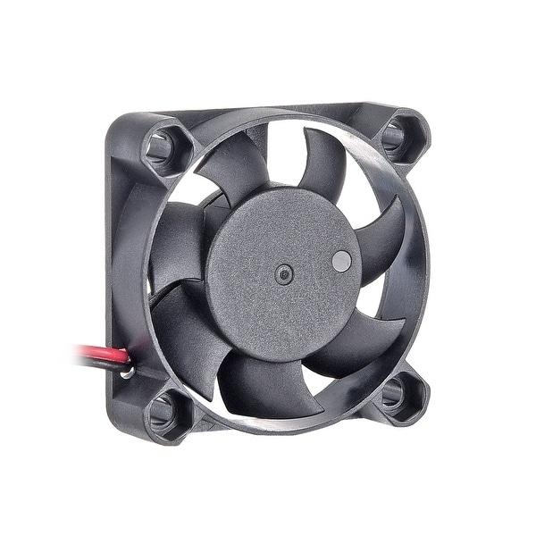 DC 24V 40mmx40mmx10mm 9 Vanes Cooling Cooler Fan w Metal Finger Guard