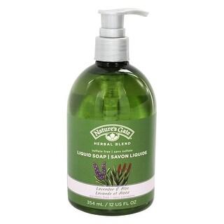 Nature's Gate Organics Liquid Soap Lavender & Aloe 12-ounce
