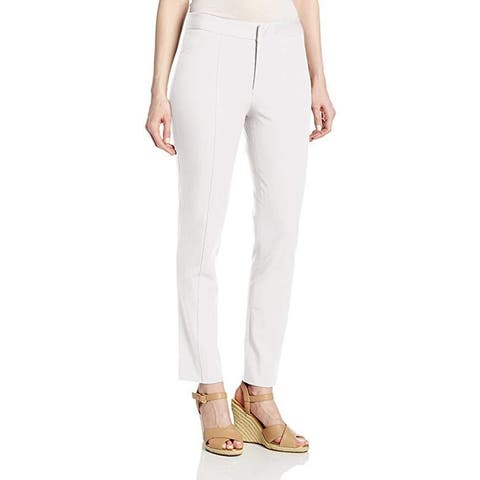 NYDJ Women's Ankle Bi-Stretch Pant, Optic White, SZ 14