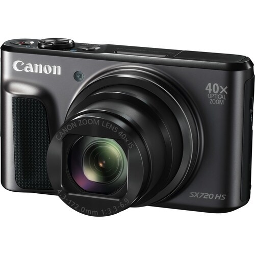 Canon PowerShot SX720 HS Digital Camera (Black) (Intl Model)