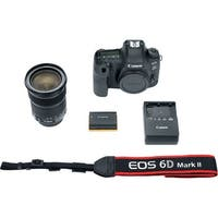 Canon EOS 6D Mark II DSLR Camera with 24-105mm f/3.5-5.6 Lens (International Model)