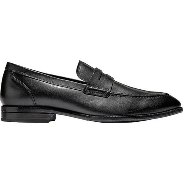 99a25dc6768 Shop Cole Haan Men s Warner Penny Loafer Black Leather - On Sale ...