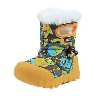 Bogs Outdoor Boot Boy B-Moc Monsters Adjustable Cord Waterproof 72163K