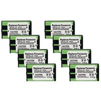 Replacement Panasonic KX-TGA542M NiMH Cordless Phone Battery (8 Pack)