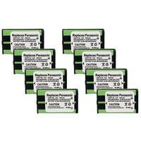 Replacement Panasonic KX-TGA550M NiMH Cordless Phone Battery (8 Pack)