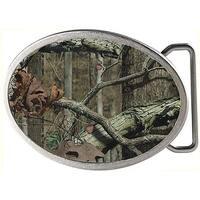 Mossy Oak Fcg Break Up Infinity Chrome Oval Rock Star Buckle - multi - One Size Fits most
