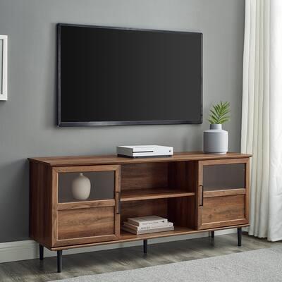 Carson Carrington Jularbo 2-door Split Panel TV Console