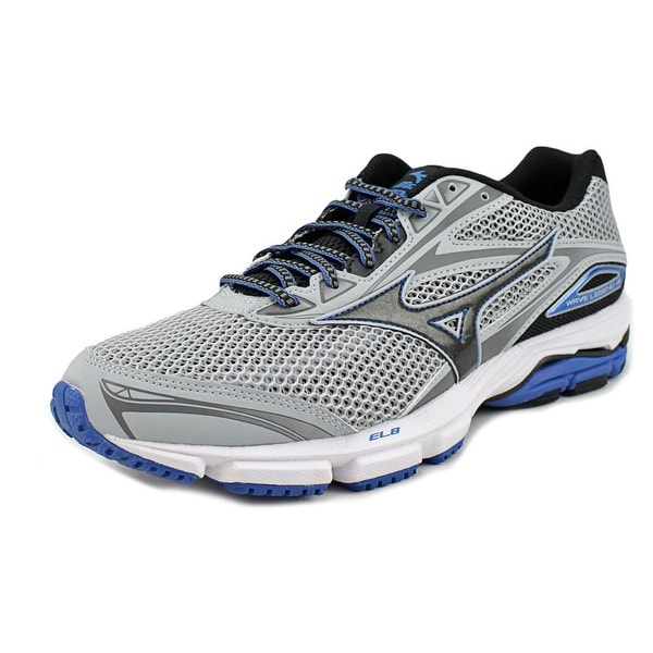 best sneakers a2b07 2be47 Mizuno Wave Legend 4 Men Grey Black Blue Running Shoes