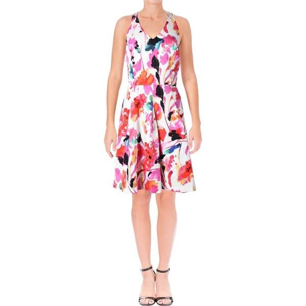 cbb091ef67 Shop Lauren Ralph Lauren Womens Casual Dress Floral Print Sleeveless ...