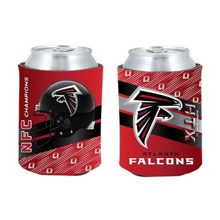 Atlanta Falcons NFC Champion 2fer Can Coolie - Red