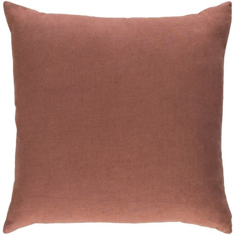 Decorative Villa 18-inch Down or Poly Filled Pillow