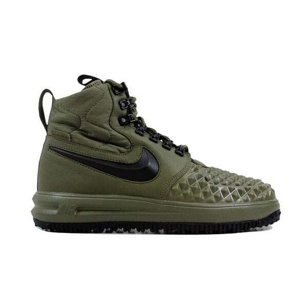 Nike Men's Lunar Force 1 Duckboot '17 Medium OliveBlack Wolf Grey916682 202