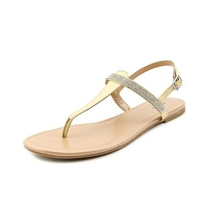 Style & Co Twisha Open Toe Synthetic Thong Sandal