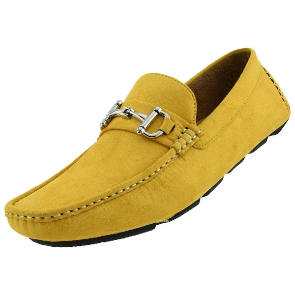 Loafers - Mustard - Overstock - 24334976