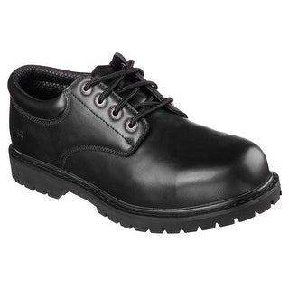 Skechers 77085 BLK Men's COTTONWOOD-CAPRON ST Work