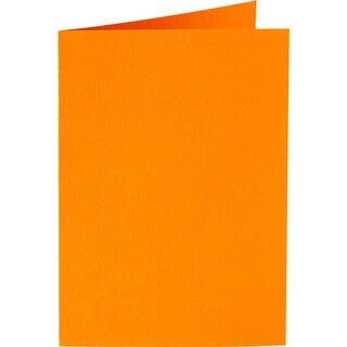 Orange - Papicolor A6 Folded Cards 6/Pkg