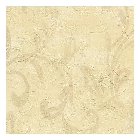Plume Cafe Modern Scroll Wallpaper - 27in x 324in x 0.025in