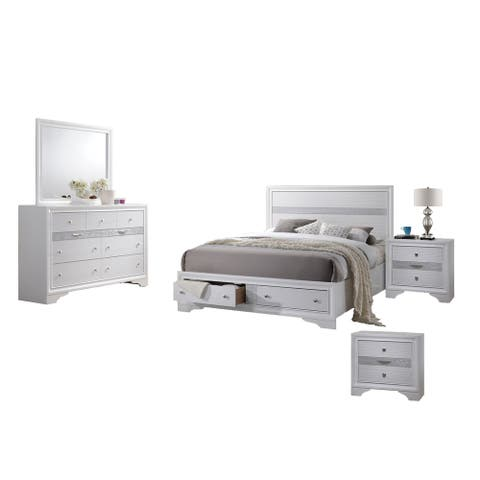 Best Quality Furniture Catherine and David 5 Piece Bedroom Set