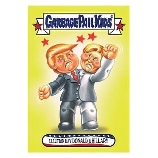 GPK: Disg-Race To The White House: Election Day Donald & Hillary #58 - multi