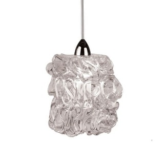 WAC Lighting MP-LED544-CL Candy 1 Light 3000K High Output LED Monopoint Mini Pendant - 5.25 Inches Wide