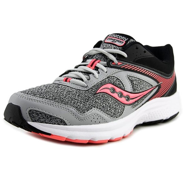 Saucony Grid Cohesion 10 Women Round Toe Synthetic Black Running Shoe