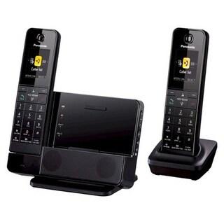 Panasonic KX-PRD262B Digital Phone w/ Smartphone Integration, Answering Machine & 2Cordless Handsets