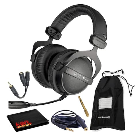Beyerdynamic DT 770 M 80 Ohm Headphones with Splitter and Extension