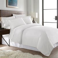 Hotel Luxury Ultra Soft 3-piece Solid Color Duvet Cover Set