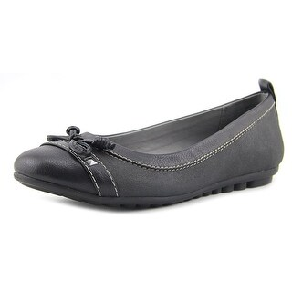 White Mountain Brentwood Women Black Flats