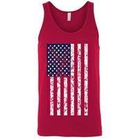Men's Tank Top Jumbo USA Flag American Stars & Stripes Vet Patriotic Pride shirt