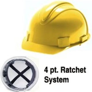 Jackson Safety 3013370 Hardhat Yellow Charger
