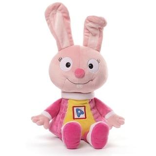 "13"" Soft Plush Astroblast Halley (Funny Bunny) Children's Stuffed Animal Toy - Pink"