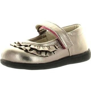 See Kai Run Girls Belle Flats Shoes - Purple - 4 m us toddler