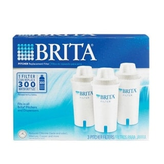 Brita 35503 Replacement 3 Pitcher Water Filter