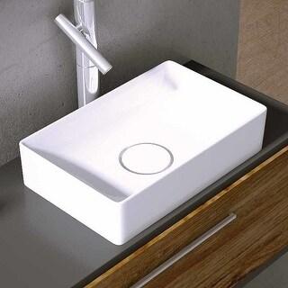 """WS Bath Collections Vision 6042 Vision 16-1/2"""" Vessel Bathroom Sink"""
