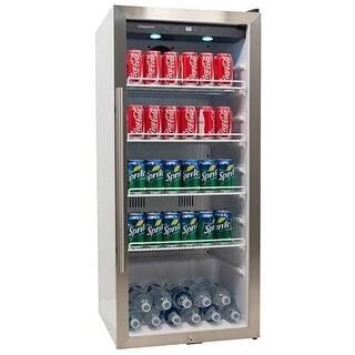 EdgeStar VBR240 22 Inch Wide 8.6 Cu. Ft. Commercial Beverage Merchandiser with Temperature Alarm