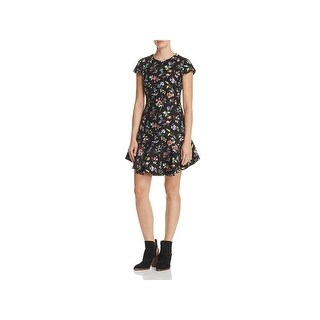 Likely Womens Casual Dress Floral Print Mini