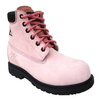 Moxie Trades Women's Betsy Xtreme Boot Pink Nubuck