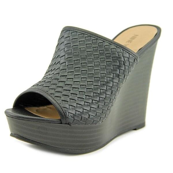 Nine West Islao1 Open Toe Synthetic Wedge Sandal