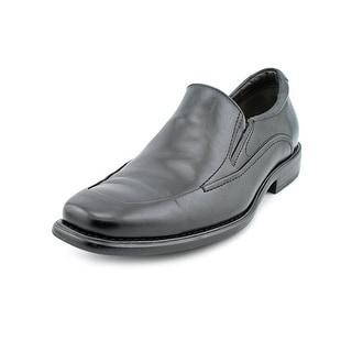 Johnston & Murphy Tilden Slip-On Men  Square Toe Leather Black Loafer