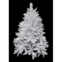 4.5' Sparkle White Spruce Artificial Christmas Tree - Unlit