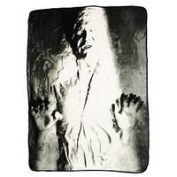 "Star Wars Han Solo Carbonite 46""x60"" Fleece Throw - Multi"