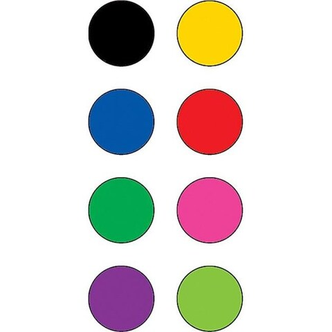 Teacher Created Resources 4820 Colorful Circles Mini Stickers