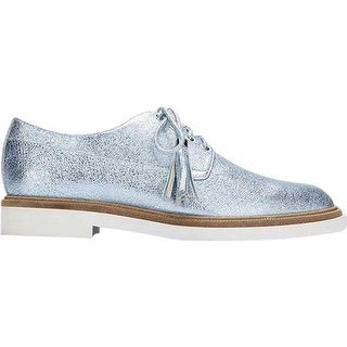 Kenneth Cole New York Women's Annie Oxford Blue Leather