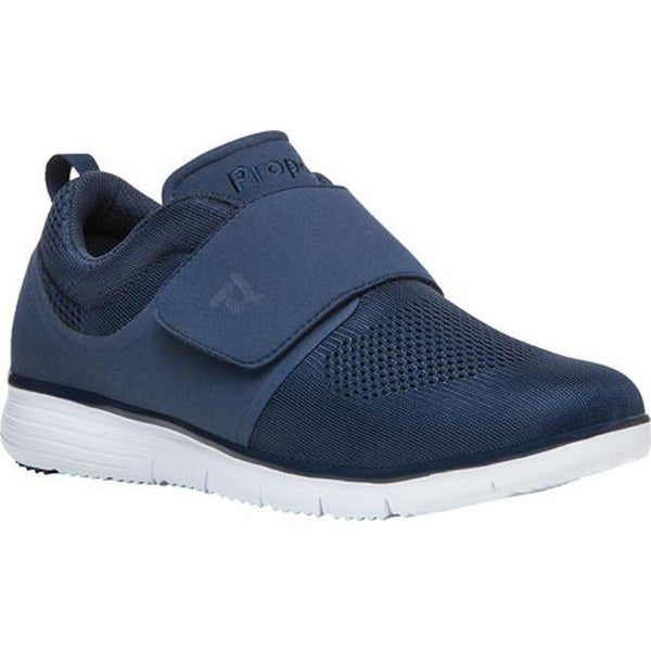 2ee7778ade Shop Propet Men's TravelFit Wide Strap Sneaker Navy Mesh - Free Shipping  Today - Overstock - 13969274