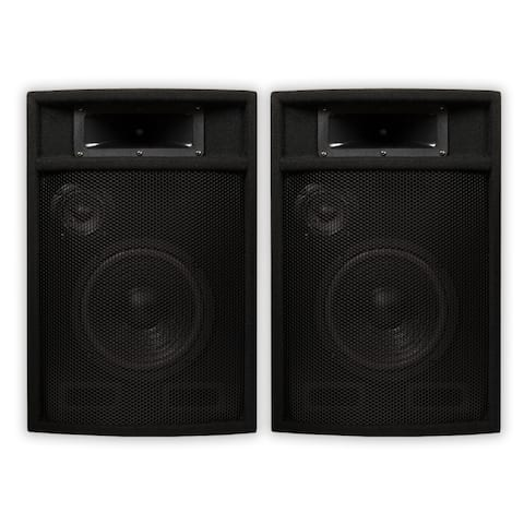 "Acoustic Audio PA-380X Passive DJ Speakers 8"" PA Karaoke 3-Way Studio Home Audio"