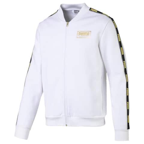 Puma Mens Hoodie Fitness Running - White - L