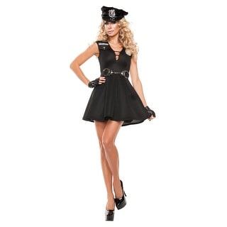 Women's Fashionable Police Costume