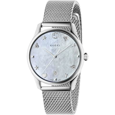 a6e890f4fa9 Gucci Women s G-Timeless Watch - YA1264040